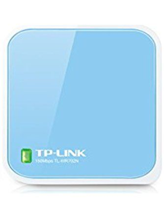 TP-Link N150 Wireless Nano Travel Router with Range Extender/Access Point/Client/Bridge Modes (TL-WR702N) ❤ TP-Link