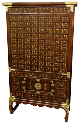 Chinese medicine chest.  Would love to own one of these!