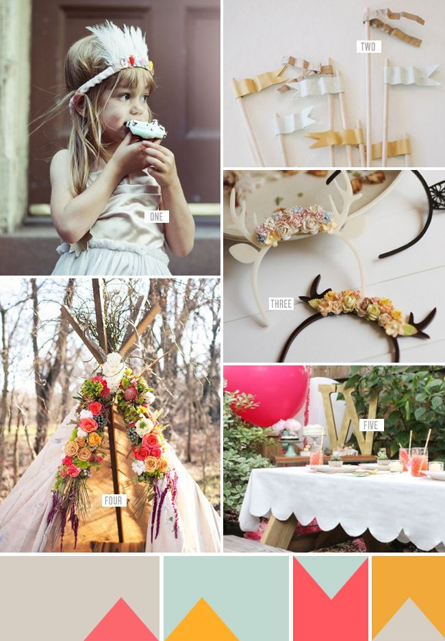 A Bohemian Kids Party — Erika Rax... I don't want this for a kids party... I want it for my party...
