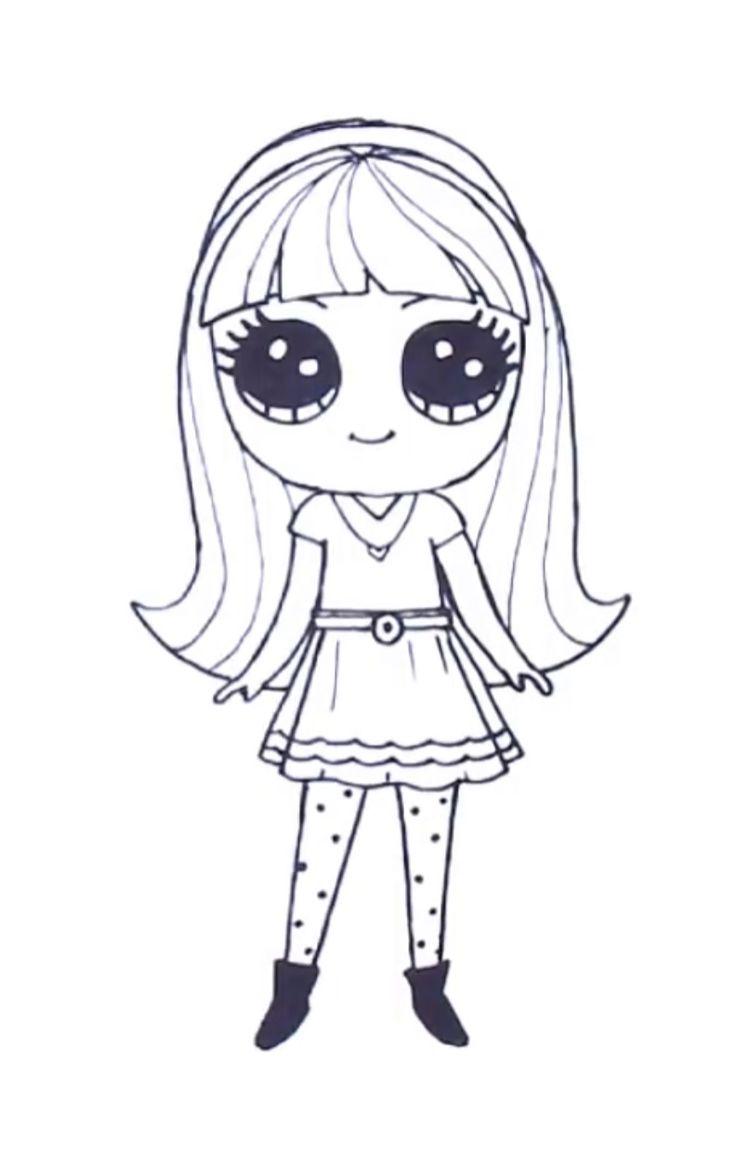 imagem de desenhos kawaii por irma loza em draw so em