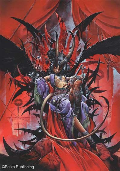 Wayne Reynolds - Demon - Malcanthet