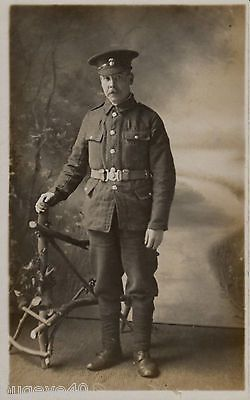 Ww1 soldier #private #northumberland fusiliers #wears economy tunic,  View more on the LINK: http://www.zeppy.io/product/gb/2/151760954119/