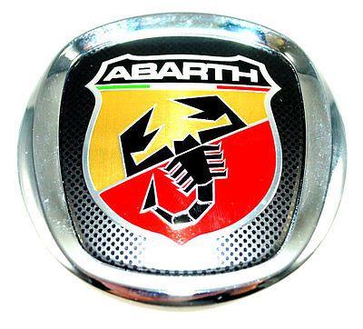 Fiat 500 Abarth Rear Tailgate Boot Badge Emblem New