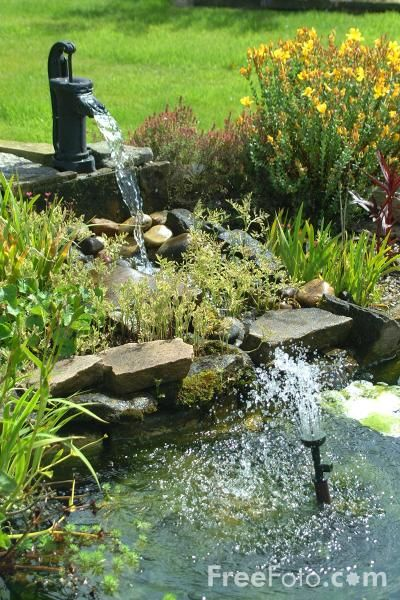 73 Pond Images Let You Dream Of A Beautiful Garden: 77 Best Images About Garden Water Features On Pinterest