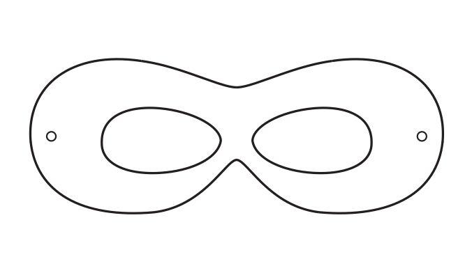 Robin mask template | Batman | Pinterest