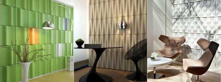 Schluss mit Nachhall, Echo, Halligkeit in Räumen | Raumakustik verbessern, optimieren in akustischer Perfektion | 3D Elemente für eine Top Schalldämmung.