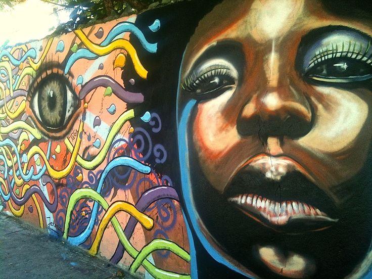 street art San Andres island