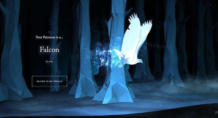 Falcon Pottermore Patronus