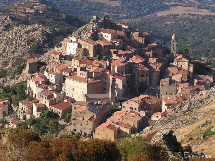 Speloncato, village perché de Balagne (Haute-Corse )
