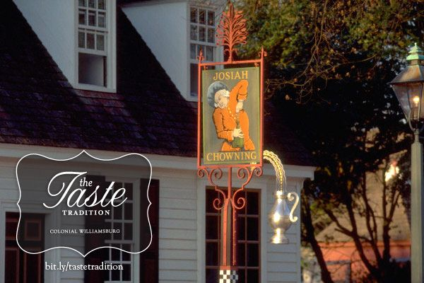 Chowning's Tavern Dinner - Colonial Williamsburg's The Taste Tradition Weekend.