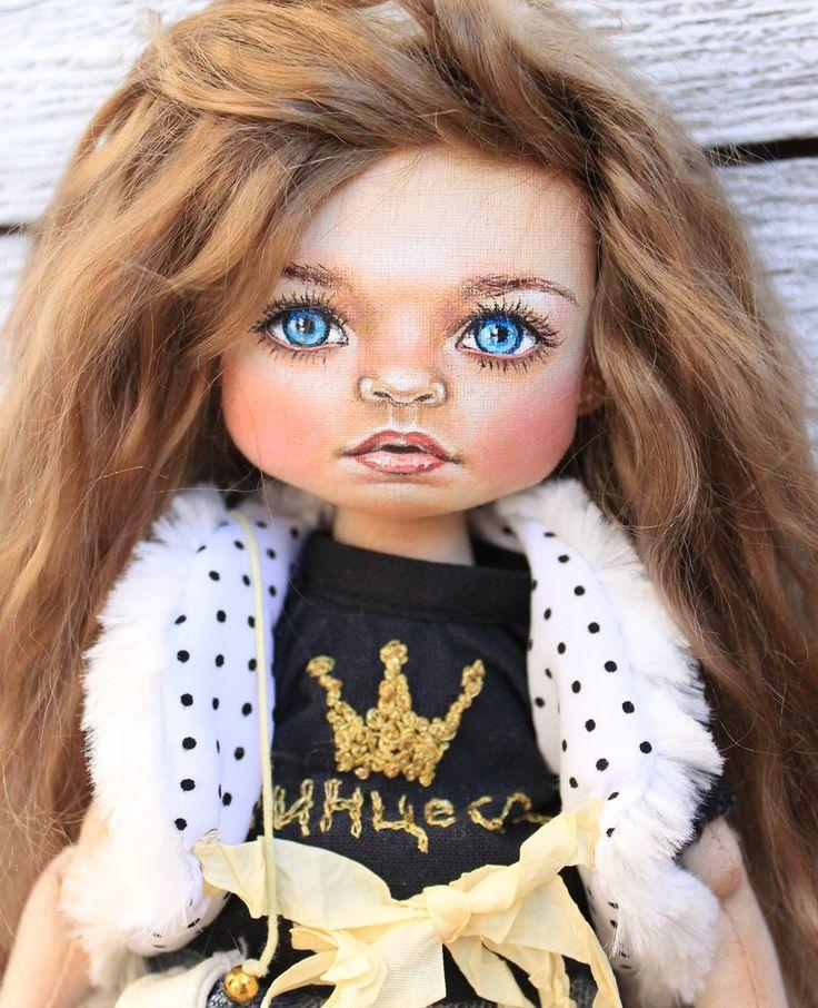 немного поспамлю новой куколкой ☺#мастеркрафт