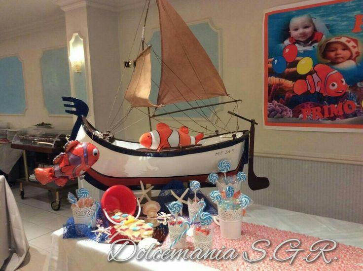 #dolcemania #palloncini #puglia #sweettable #sweet #table #tavola #nave #mare #sea #confetti #sabbia #idea #comunione #vela #estate #italy