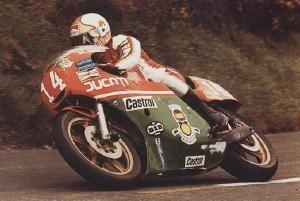 [Mike Hailwood in 1978 TT victory