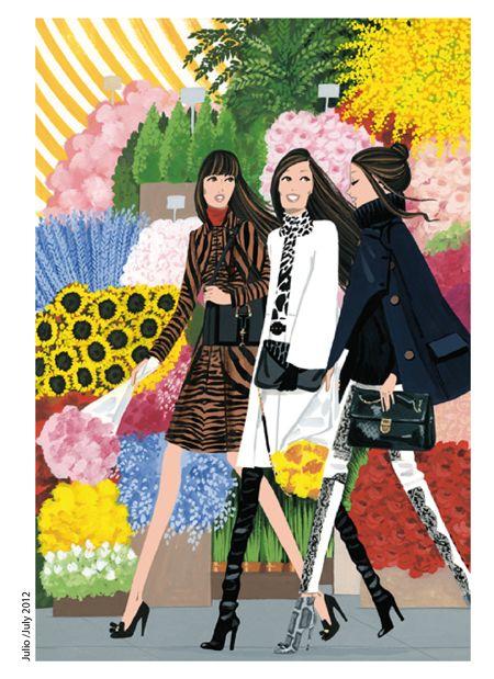 (••)                                                              Jordi Labanda's Fashion Illustrations