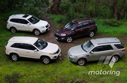 Urbane warfare: 7-seater diesel SUV camparison - motoring.com.au