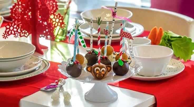 Новогодние кейк-попс
