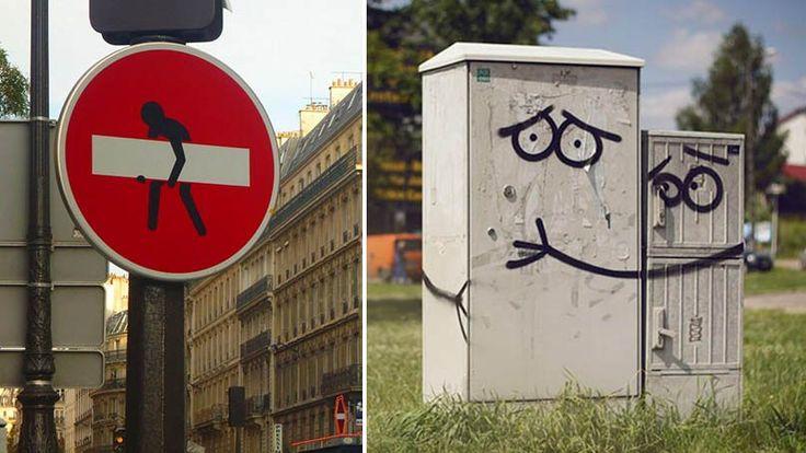 Kreatívny vandalizmus, ktorý vás pobaví