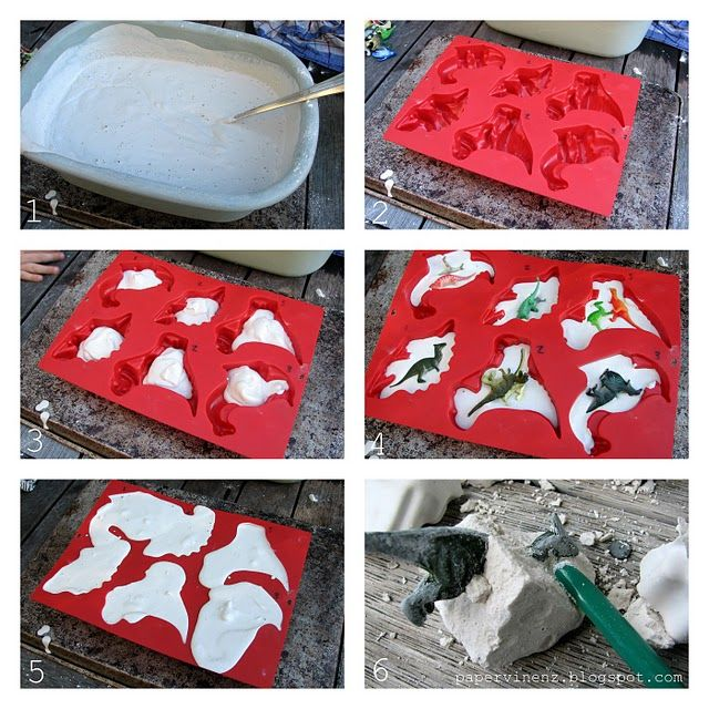 Make your own Dino fossils
