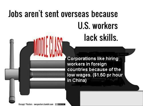 Republican congress gives a tax break for sending jobs overseas. Obama has asked it be stopped.