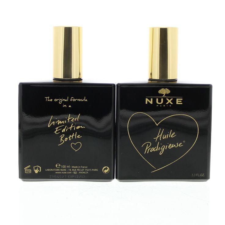 Nuxe Prodigieux Huile Prodigieuse Olie Gezicht/Lichaam/Haar 100Limited  Nuxe Prodigieux Huile Prodigieuse. Met zijn unieke samenstelling van 6 waardevolle plantaardige oliën en vitamine E wordt dit volwaardige verzorgingsproduct snel in de huid opgenomen. Het maakt de huid ineens zijdezacht en de haren soepel en glanzend. Door zijn unieke droge olie textuur en zijn onnavolgbare parfum is deze olie al meer dan 20 jaar een favoriet product voor de vrouwen. Het bevat 978% ingrediënten van…