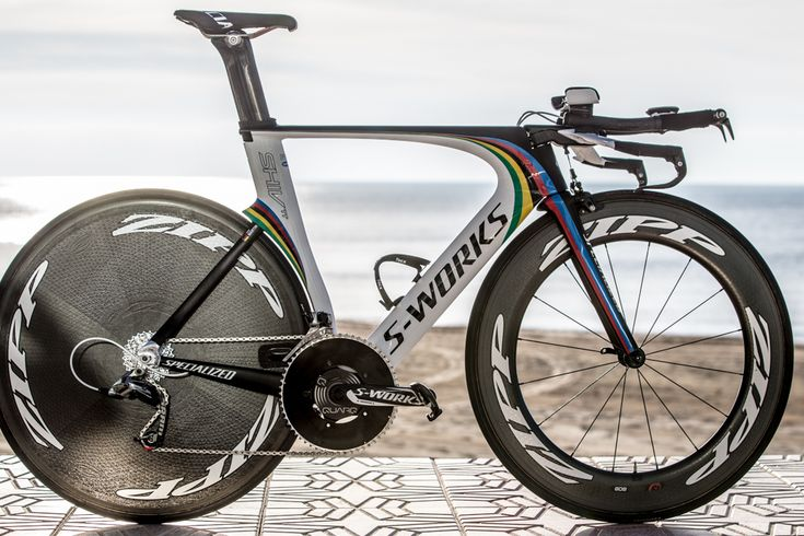 Pro Bike Gallery: Tony Martin's Specialized Shiv TT S-Works - Martin has been king of the TT since claiming his first world championship in 2011. Since then, no other rider has been able to remove the rainbow chronograph stripes from Martin's back. His team, Omega Pharma-Quick Step, also won back-to-back team time trial world titles in 2012 and 2013, and Martin has taken 11 victories in WorldTour individual time trials since the beginning of 2011. Photo: BrakeThrough Media | VeloNews.com
