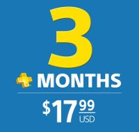 REWARD: PlayStation Plus 3 Month Membership EvoBay