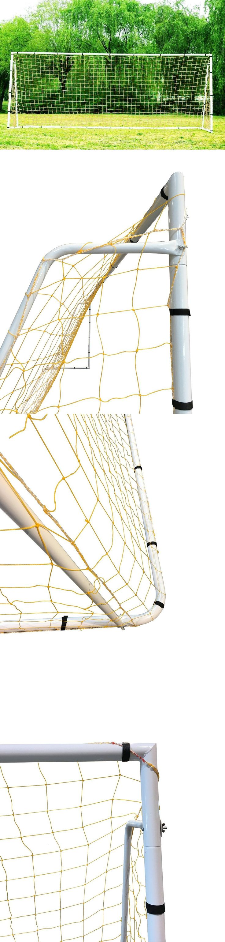 Goals and Nets 159180: 24 X 8 Official Mls Fifa League Size Soccer Goal. Heavy Duty Frame W Two Nets. -> BUY IT NOW ONLY: $249.99 on eBay!