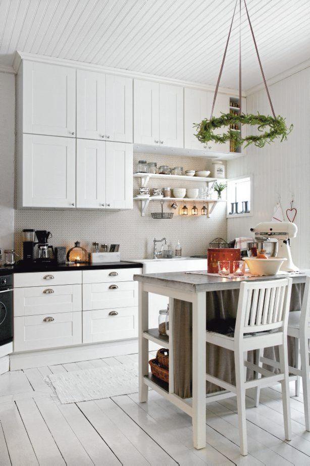 Een kleine maar knusse keuken