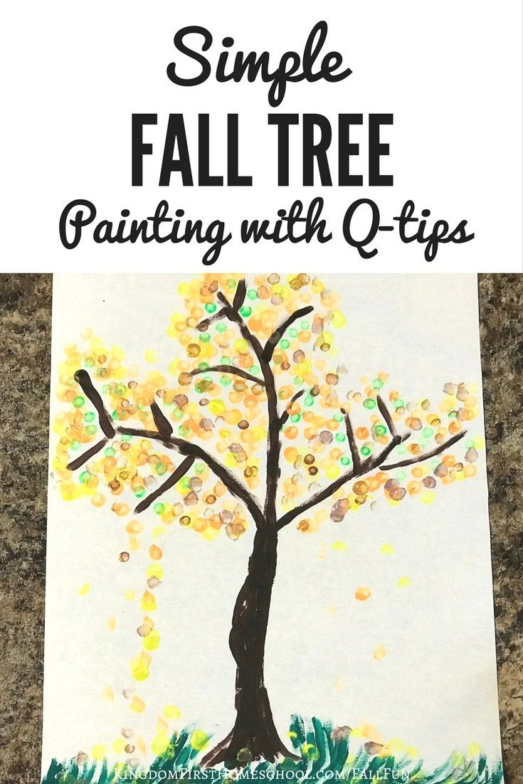 Simple Fall Wreath: Best 25+ Fall Tree Painting Ideas On Pinterest