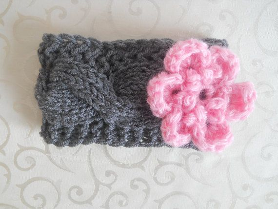 Baby Girl Headbands Newborn Headbands Crochet Baby Headbands, Baby Flower Headbands, Baby Knit Headband Photo Prop