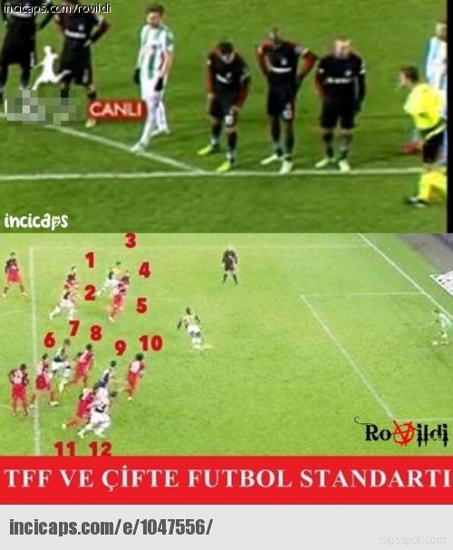 Beşiktaş-Konyaspor Maçı Capsleri
