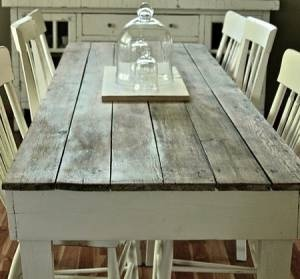 Dining Table With Old Barn Boards Part 43