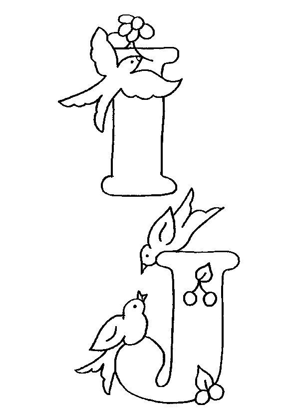 Alphabet Oiseaux I J, page 31 sur 38 sur HugoLescargot.com