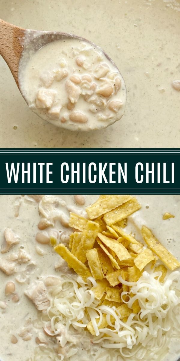 One Pot White Chicken Chili In 2020