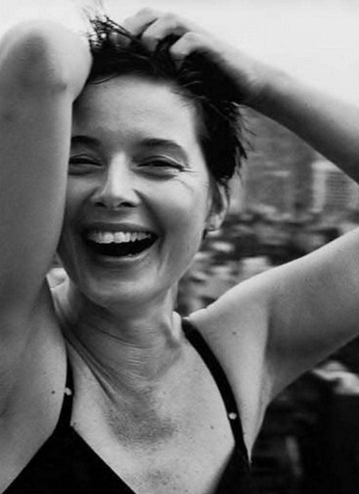 Peter Lindbergh, Isabella Rossellini, 2002.