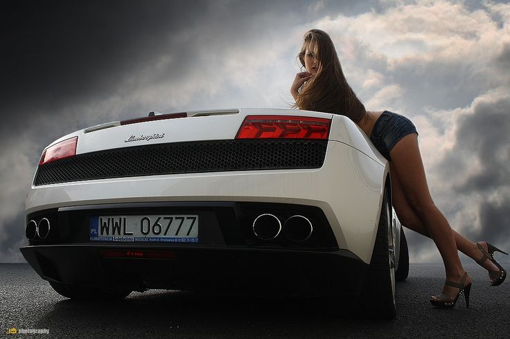 Lamborghini Gallardo & Nina by Jarek S on 500px
