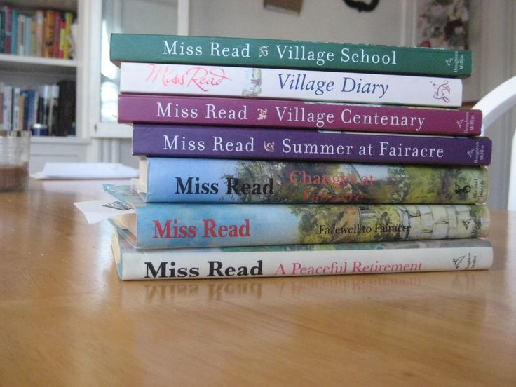Miss Read's books; so lovely  Yes, I loved Miss Read books.  When my daughters would hear me laughing, they would ask if was reading a Miss Read book.  They are superb.