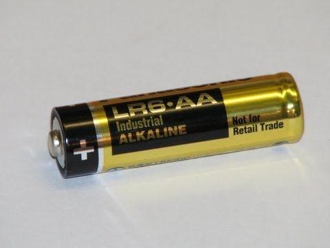 Recharge Your Alkaline Batteries - YouTube