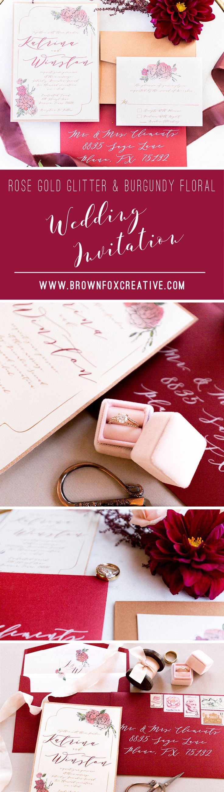 184 best Wedding Invitations images on Pinterest