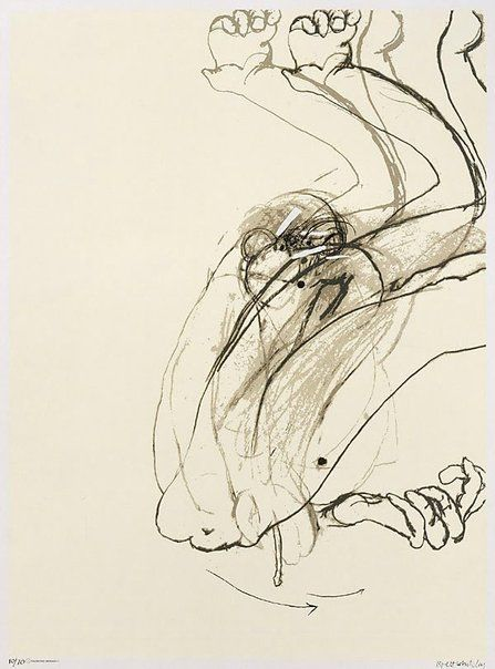 Bret Whiteley, 'Swinging Monkey 1',  1965___ three-colour screenprint on white wove paper,76.2 x 56.1 cm image; 95.4 x 68.0 cm sheet, Edition: 10/70
