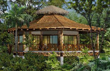 Octagonal Bamboo House~ Guadua Bamboo House in Costa Rica