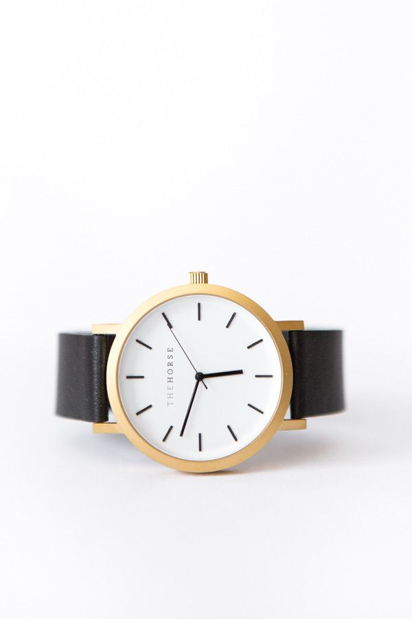 BACK IN STOCK // The Horse Original Leather Watch – Parc