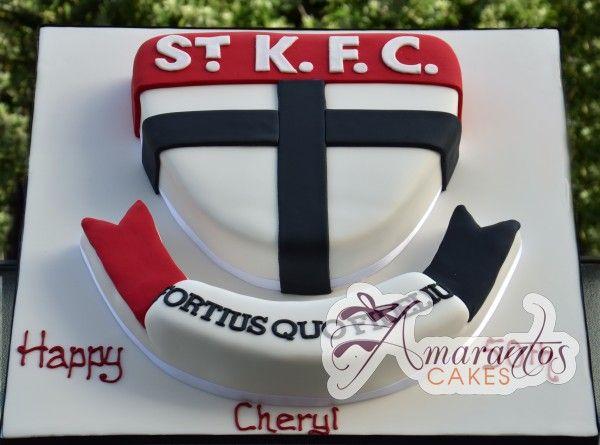 St Kilda Football Cake cakepins.com