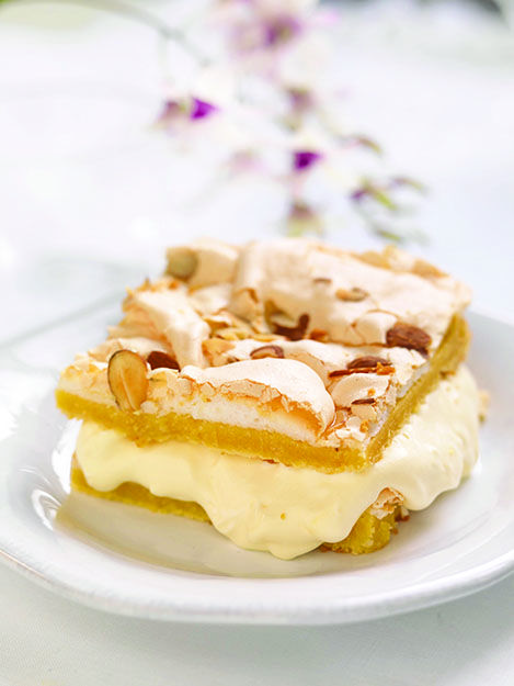 This treat is often called Verdens Beste, thanks to layers of meringue, vanilla cream, and almonds This week's recipe is courtesy of Seattle's Nordic Heritage Museum, and was first published in the...