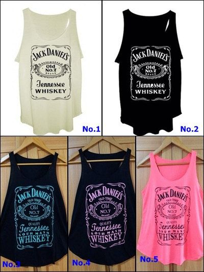 Jack Daniels. i want these shirts so badly.