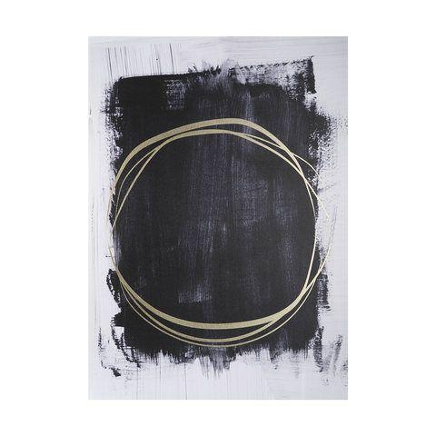 Gold Ring Foil Print