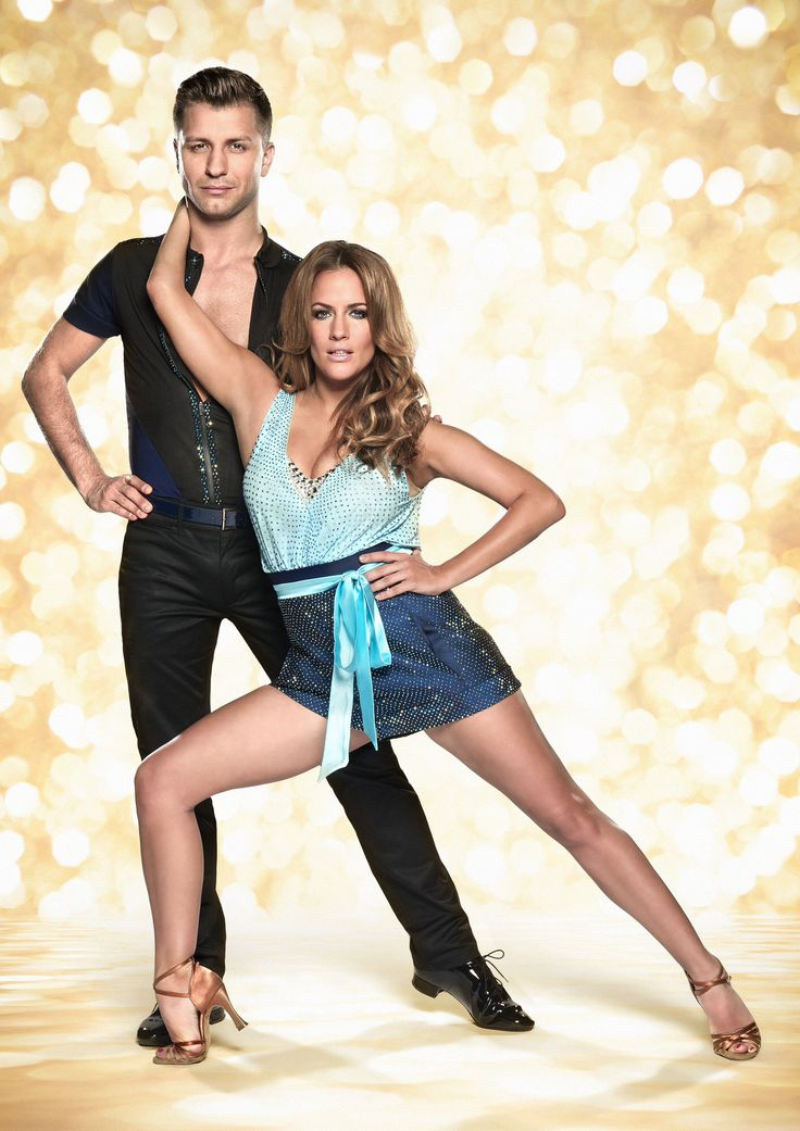 Pasha Kovalev and Caroline flack, strictly come dancing 2014 official photo