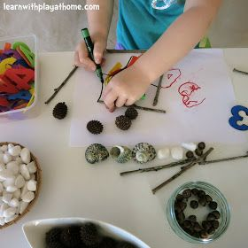 Learn with Play at Home: An Invitation to Play and Learn with Numbers and Natural Materials