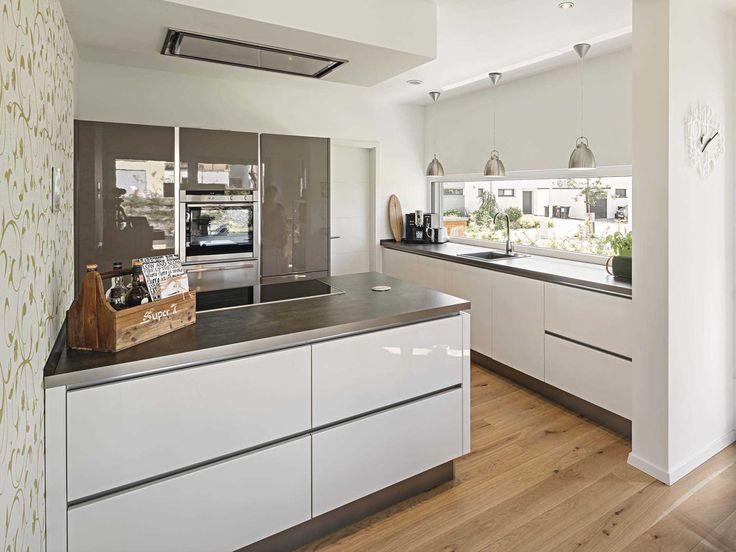Küche Im Kundenhaus Blum Von WeberHaus U2022 Mit Musterhaus.net Traumhaus  Finden Und Küchen Zum