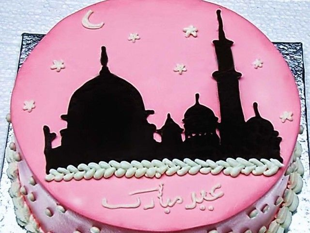 Mosques, bangles, floral patterns popular choices for Eid cakes.
